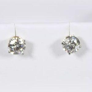 Jewelry - 💎1.00CTW Natural Diamond 14K Yellow Gold Studs